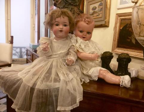 Creeoy Antique Dolls at Montecatini Terme