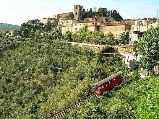 Funicular to Montecatini Terme