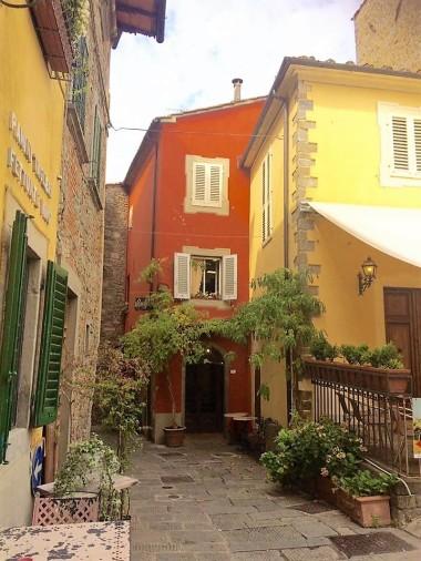 Charming streets of Montecatini Alto