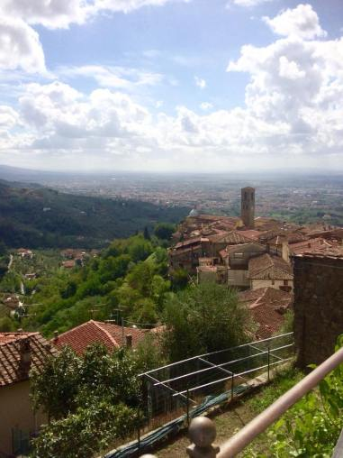 View from Montecatini Alto